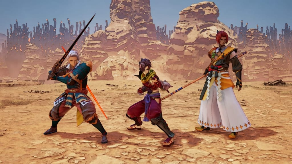 Tales of Arise - Warring States Outfit Costume for Male Characters 1