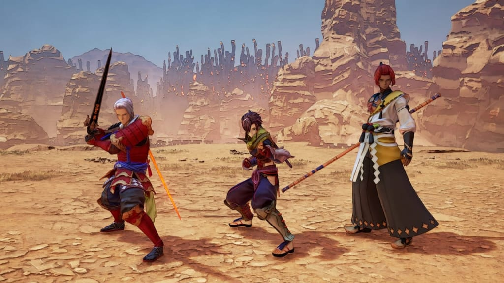 Tales of Arise - Warring States Outfit Costume for Male Characters 3