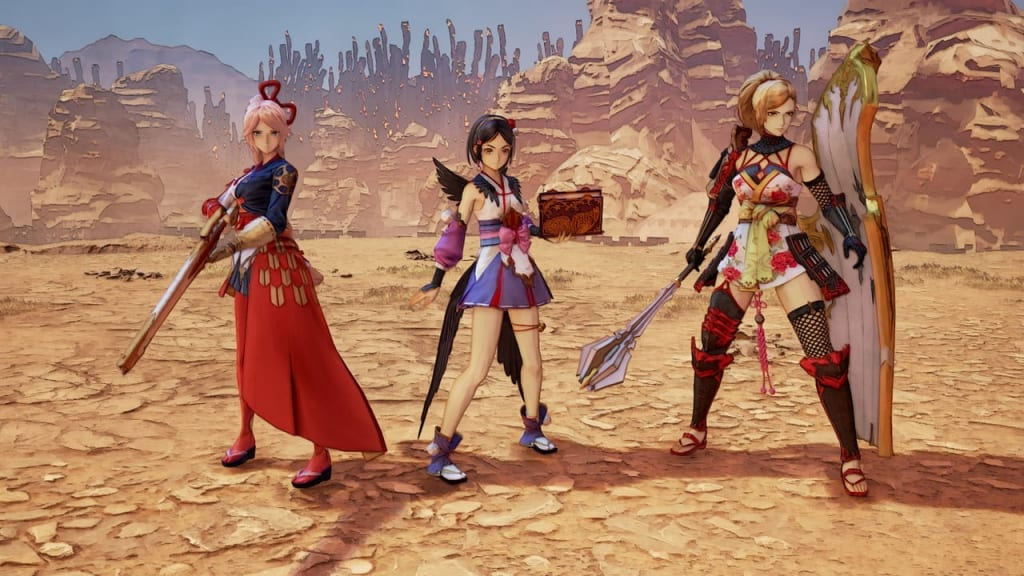 Tales of Arise - Warring States Outfit Costume for Female Characters 1
