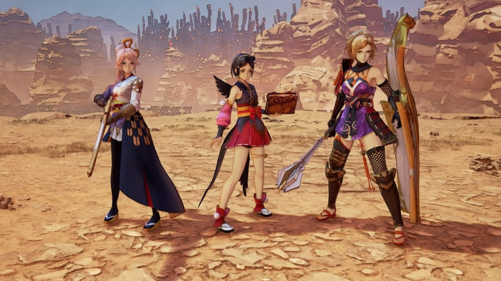 Tales of Arise - Warring States Outfit Costume for Female Characters 2