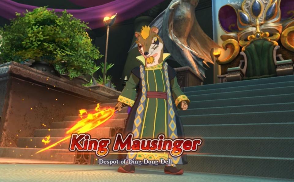 Ni no Kuni 2: Revenant Kingdom - King Mausinger Boss Guide