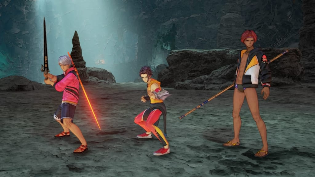 Tales of Arise - Beach Life Outfit Costume for Male Characters 2