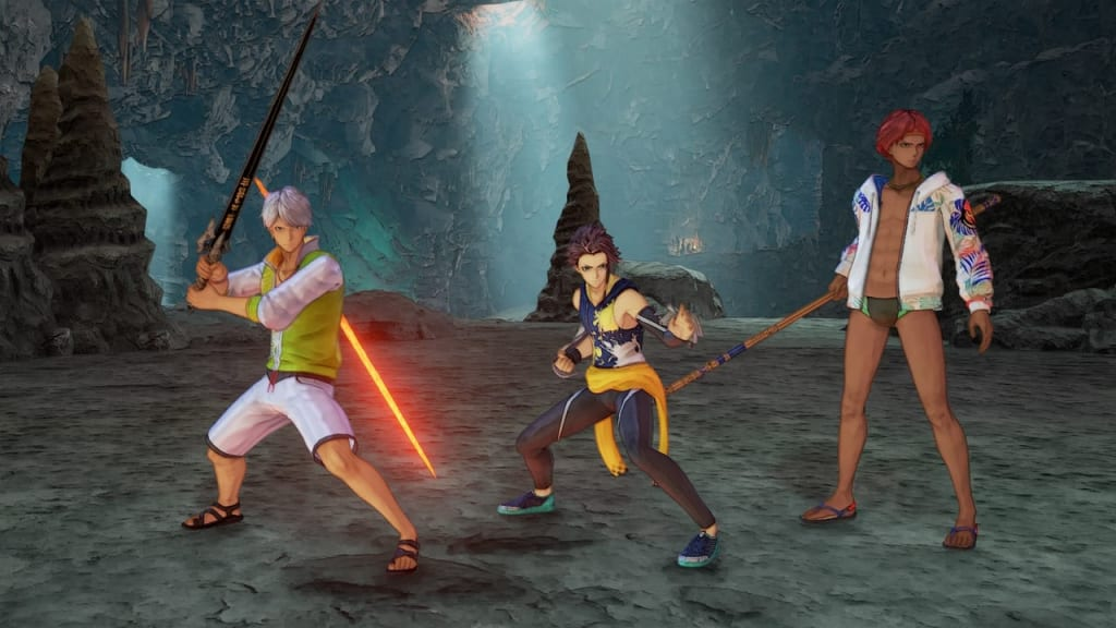 Tales of Arise - Beach Life Outfit Costume for Male Characters 3