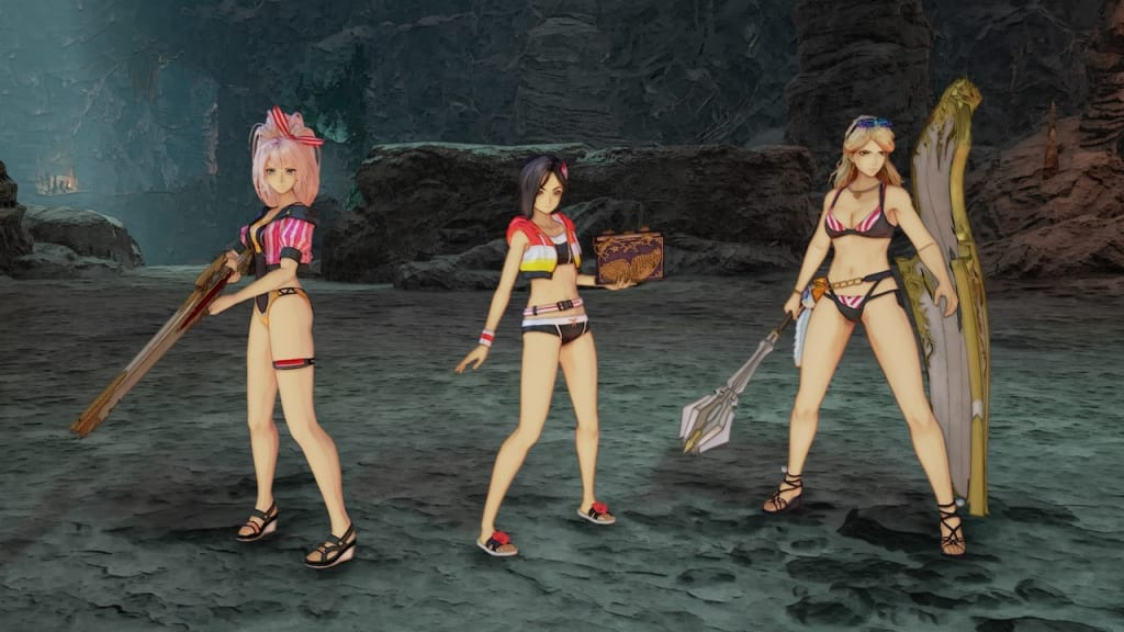 Tales of Arise - Beach Life Outfit Costume for Female Characters 2