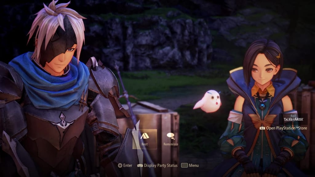 Tales of Arise - Camping Rest