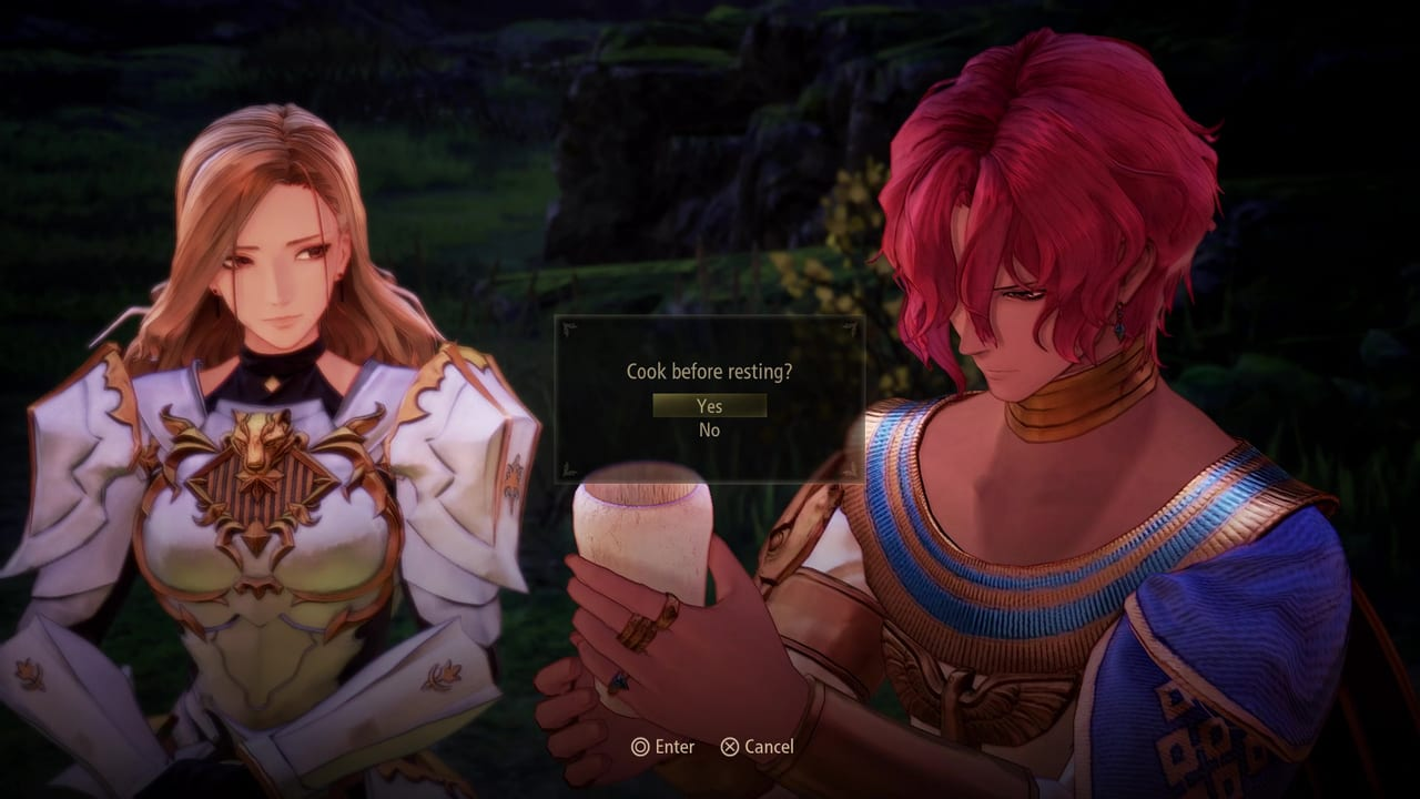 Tales of Arise - Cooking Option