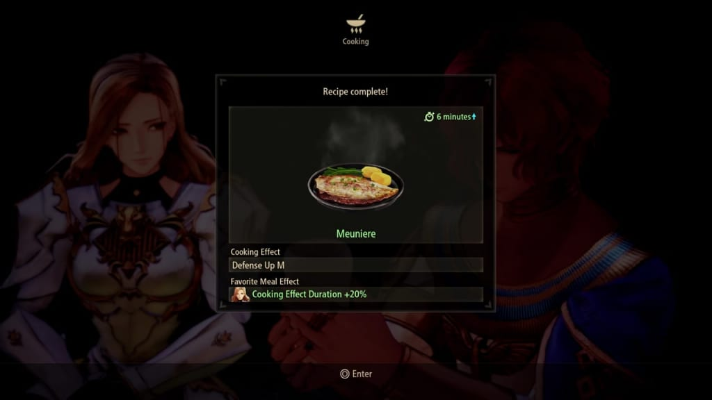 Tales of Arise - Cooking Dish Meal