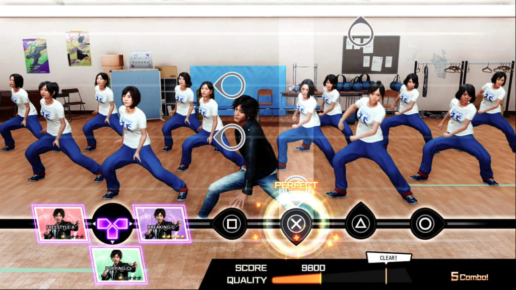 Lost Judgment 2 - Dance Club How to play the mini-game