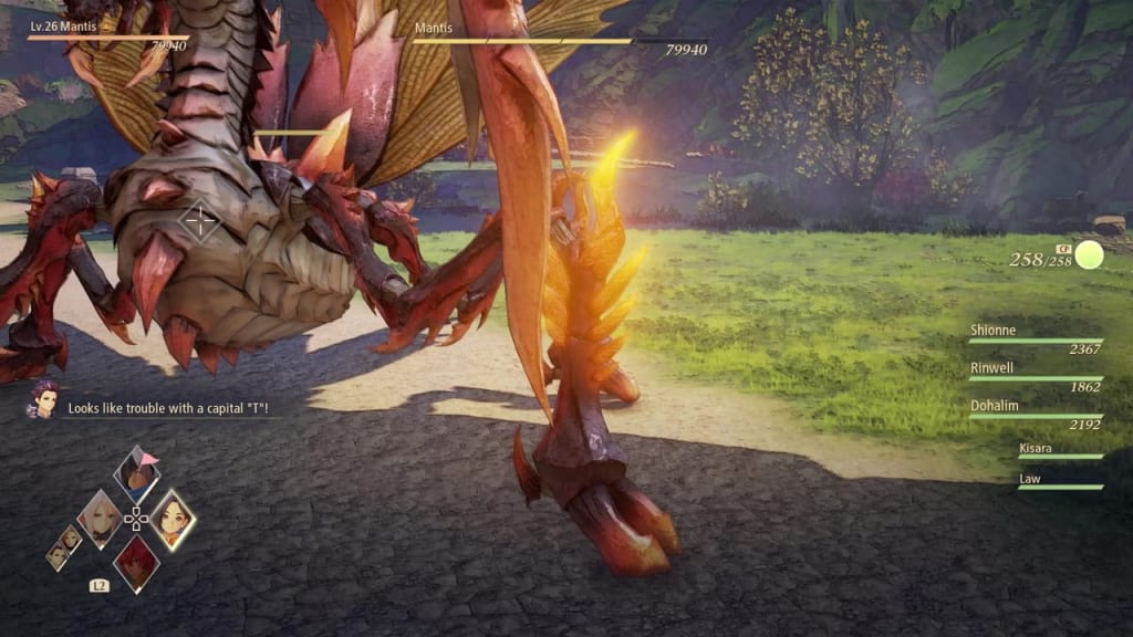 Tales of Arise - How to Defeat Mantis Gigant Zeugle Front Leg Weakness