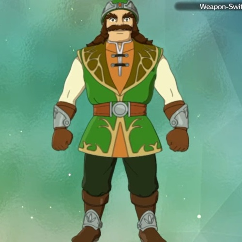 Ni no Kuni 2: Revenant Kingdom - Batu Comander's Cobbler Outfit