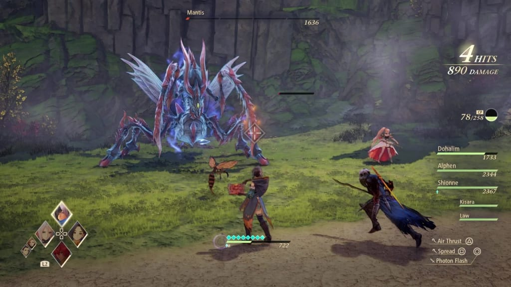 Tales of Arise - Bee Zeugle Attacks and Strategies