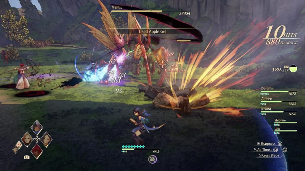Tales of Arise - How to Defeat Mantis Gigant Zeugle Ground Attack