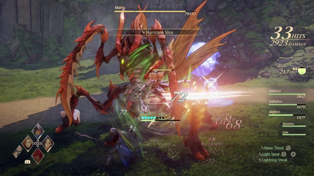 Tales of Arise - How to Defeat Mantis Gigant Zeugle Use Wind Artes