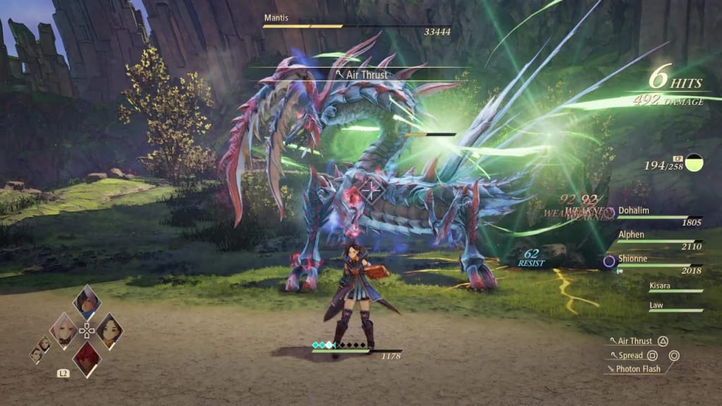 Tales of Arise - How to Defeat Mantis Gigant Zeugle Power Up Mode