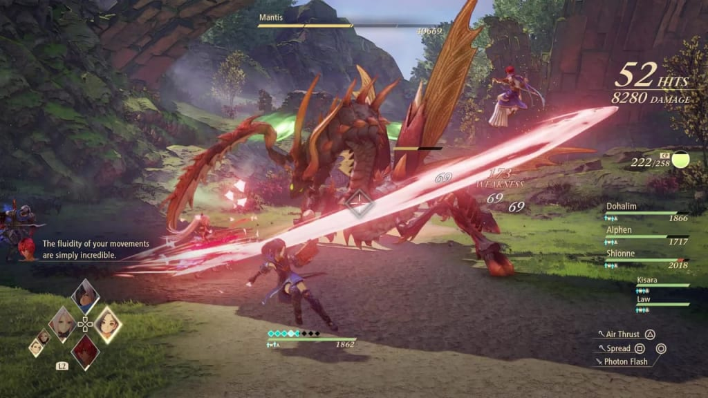 Tales of Arise - How to Defeat Mantis Gigant Zeugle Slash Attack