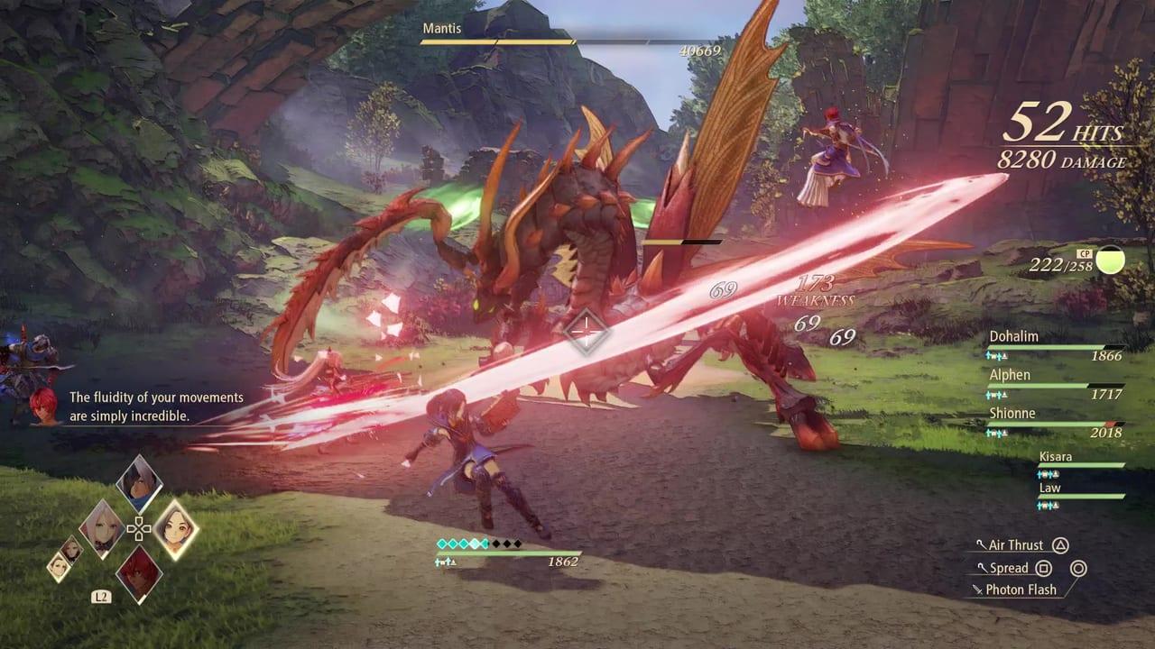 Tales of Arise - Mantis Slash Attack