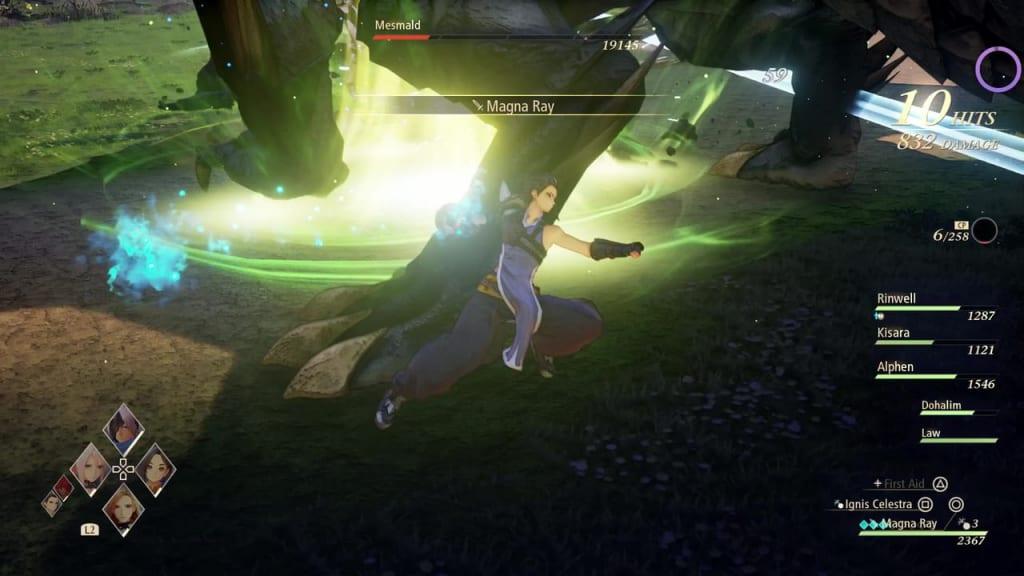 Tales of Arise - Mesmald Breaker Fist Law Boost Attack