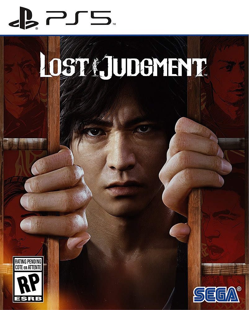 Lost Judgment - Pre-Order PlayStation 5 Physical Edition