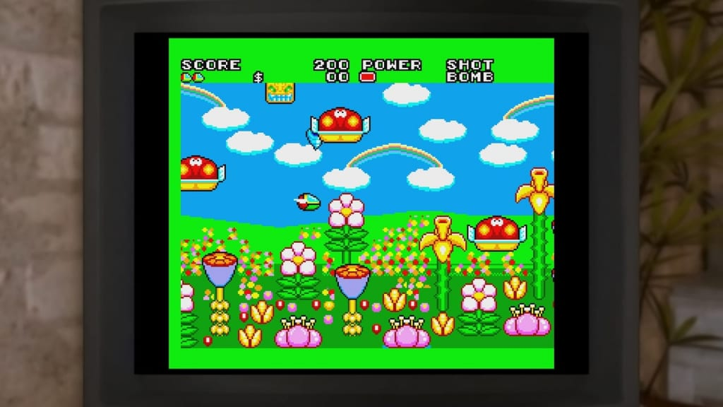 Lost Judgment - Sega Minigame Fantasy Zone II: The Tears of Opa-Opa