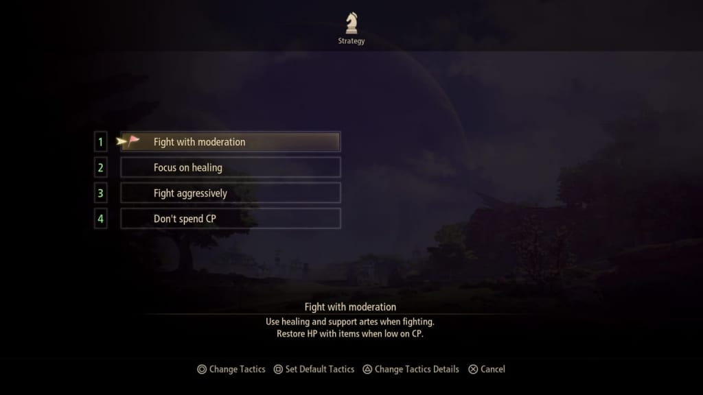 Tales of Arise - All Party Tactics List