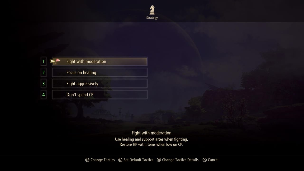 Tales of Arise - Party Strategy List