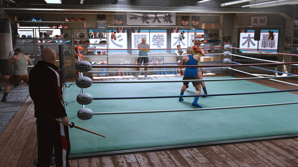 Lost Judgment - Boxing Gym Guide