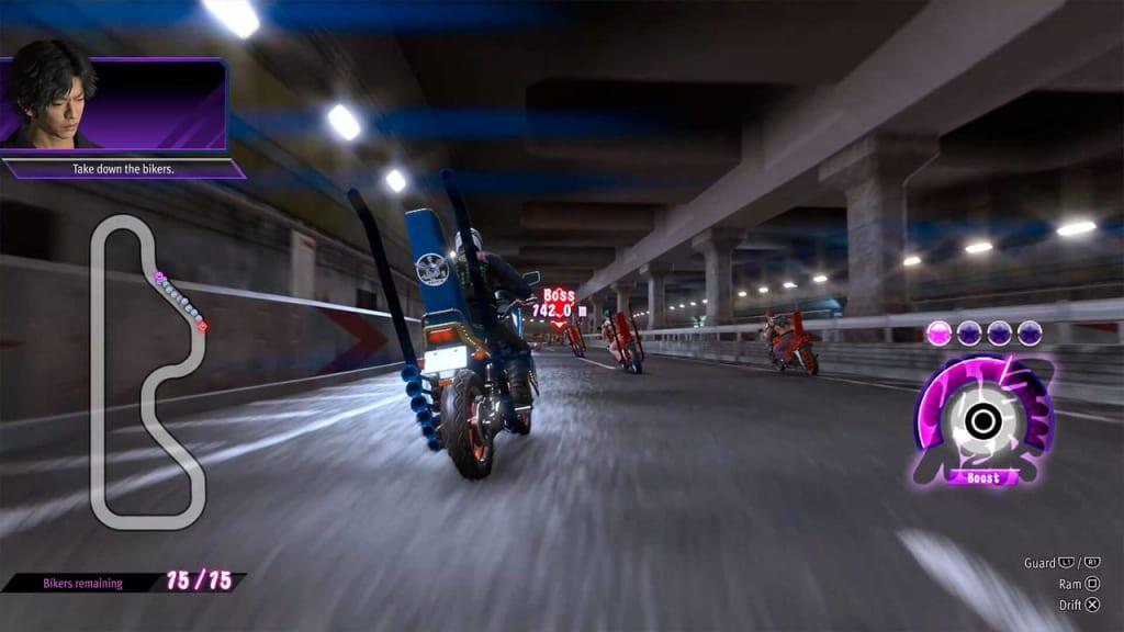 Lost Judgment - Runaways Biker Gang Death Race Guide