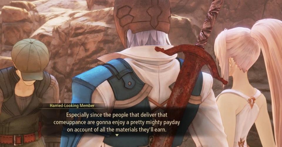 Tales of Arise - Giant Zeugle Hunt Sub Quest Walkthrough