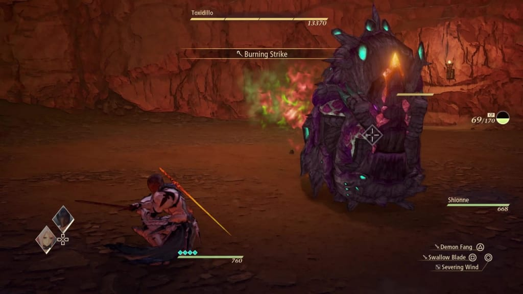 Tales of Arise - How to Defeat Toxidillo Gigant Zeugle Rolling Charge Attack