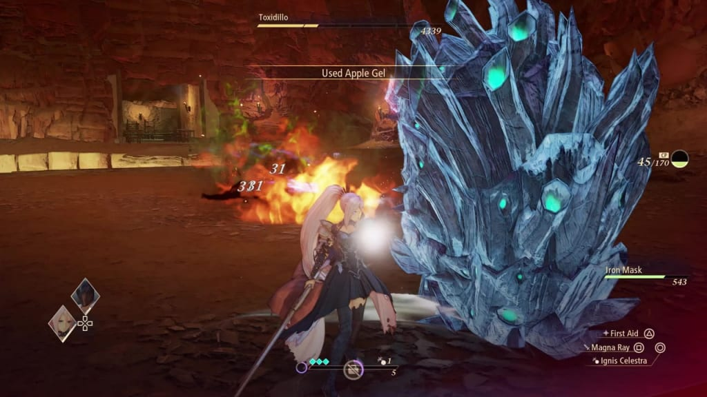 Tales of Arise - How to Defeat Toxidillo Gigant Zeugle Continuous Charge Attack