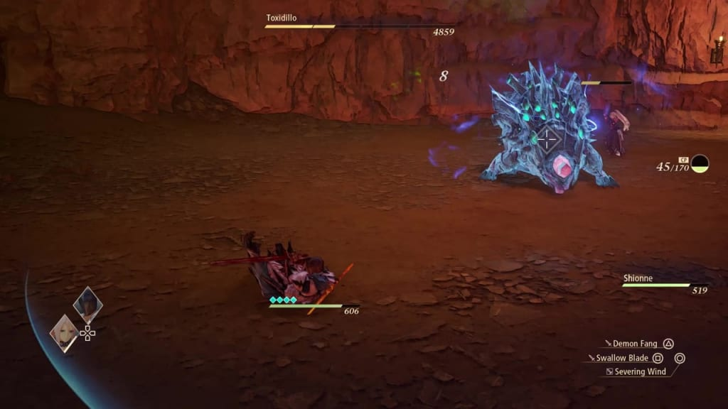 Tales of Arise - How to Defeat Toxidillo Gigant Zeugle Power-Up Mode