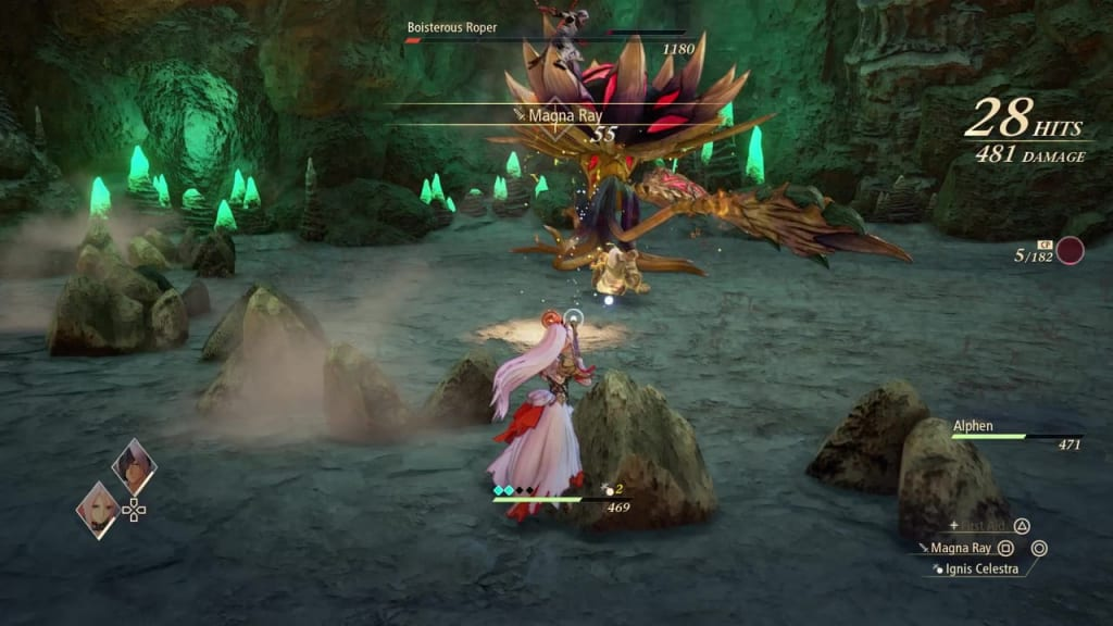 Tales of Arise - How to Defeat Boisterous Roper Gigant Zeugle Tectonic Wave