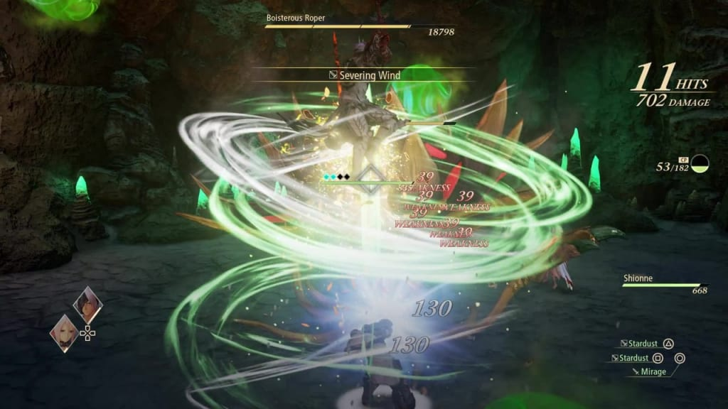 Tales of Arise - How to Defeat Boisterous Roper Gigant Zeugle Use Wind Artes