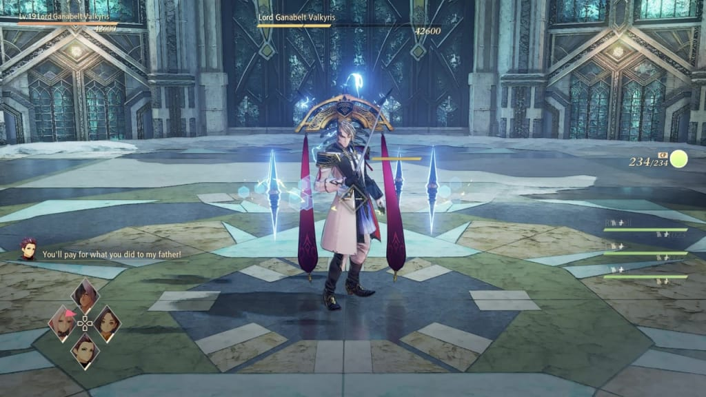 Tales of Arise - How to Defeat Lord Ganabelt Valkyris Target Body