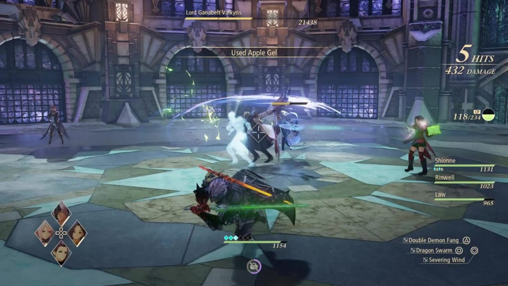 Tales of Arise - How to Defeat Lord Ganabelt Valkyris Flurry Attack