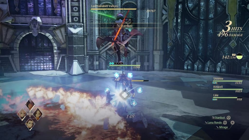 Tales of Arise - How to Defeat Lord Ganabelt Valkyris Homing Orbs