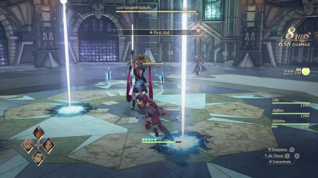 Tales of Arise - How to Defeat Lord Ganabelt Valkyris Light Beams