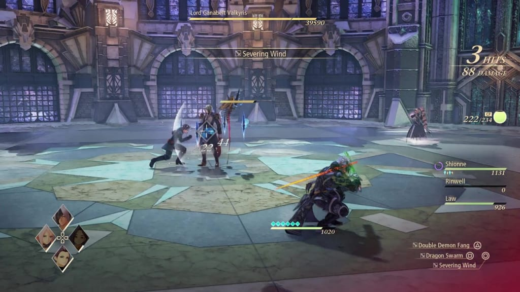 Tales of Arise - How to Defeat Lord Ganabelt Valkyris Strategies First Phase