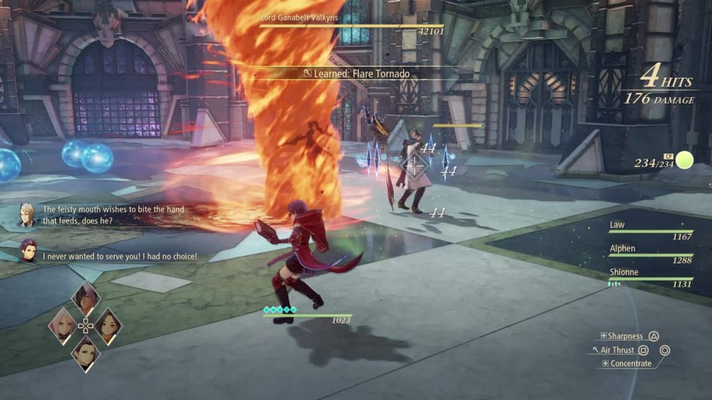 Tales of Arise - How to Defeat Lord Ganabelt Valkyris Use any artes