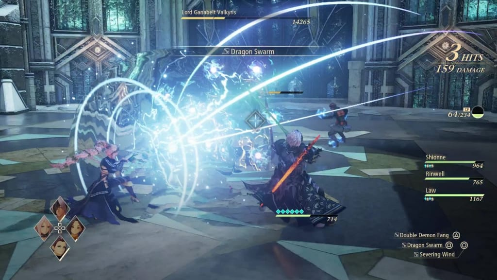 Tales of Arise - How to Defeat Lord Ganabelt Valkyris Wing Clip Shionne Boost Attack