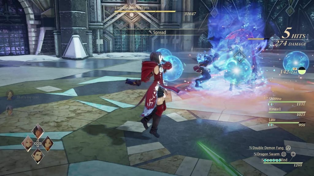 Tales of Arise - How to Defeat Lord Ganabelt Valkyris Magic Cancel Rinwell Boost Attack