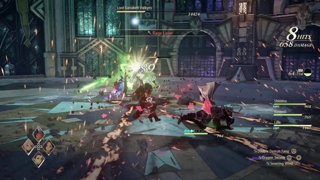 Tales of Arise - How to Defeat Lord Ganabelt Valkyris Rage Laser