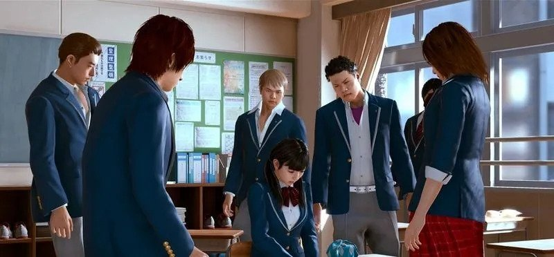 Lost Judgment 2 - Chapter 1 Head to Class 2-2 without Getting Spotted