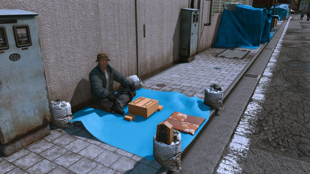 Lost Judgment 2 - Street Outdoor Shogi Guide