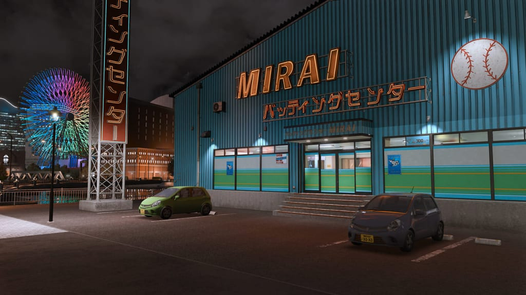 Lost Judgment 2 - Mirai Batting Center