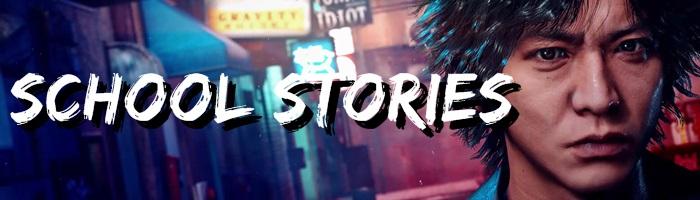 Lost Judgment - School Stories Banner