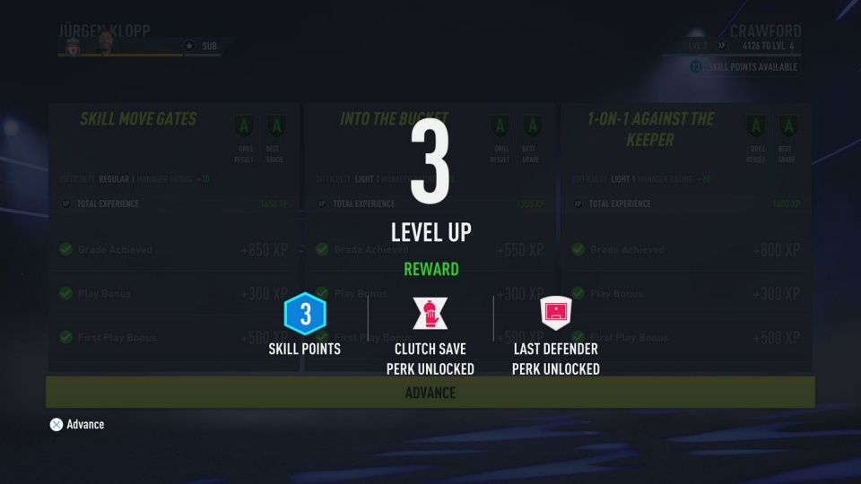 FIFA 22 - How to Earn XP in Career Mode
