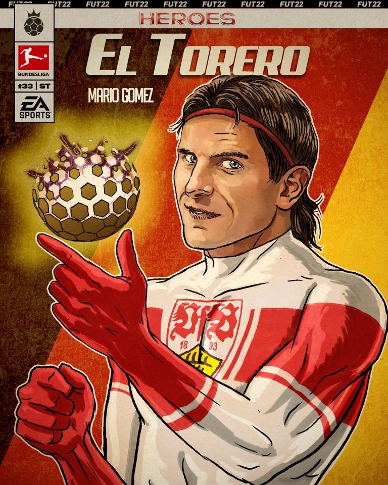 FIFA 22 - FUT Heroes Mario Gomez