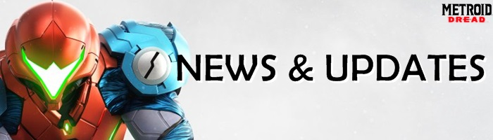 Metroid Dread - News and Updates Banner