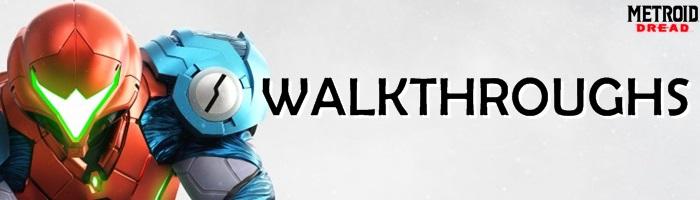 Metroid Dread - Walkthroughs Banner